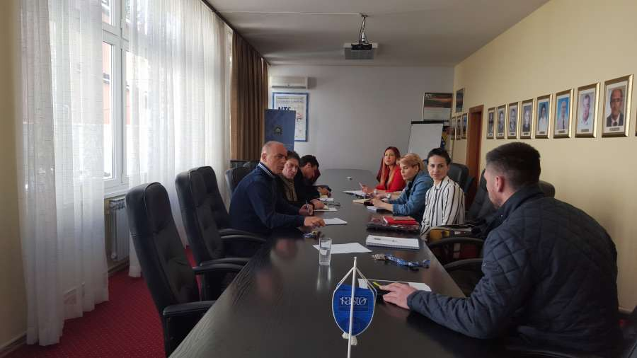 Local consultancy meeting at University of Sarajevo